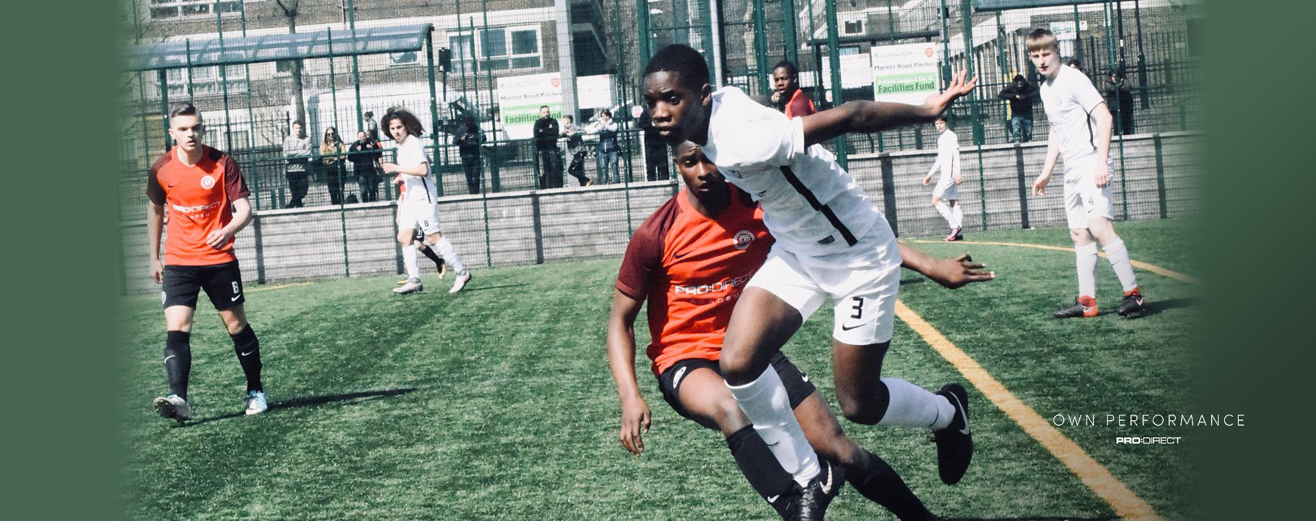 Players compete in trials at Pro:Direct London Central, Islington