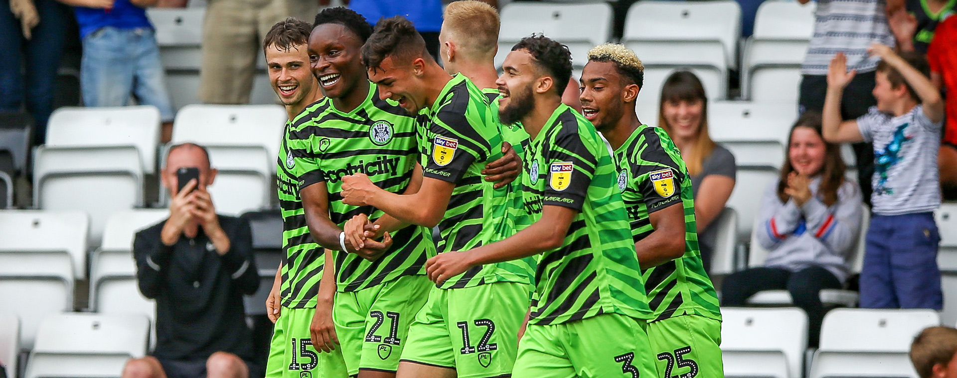 Taylor Allen scores for Forest Green Rovers
