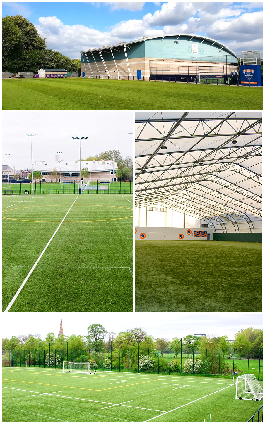 Pro:Direct Academy Manchester indoor and out door pitches