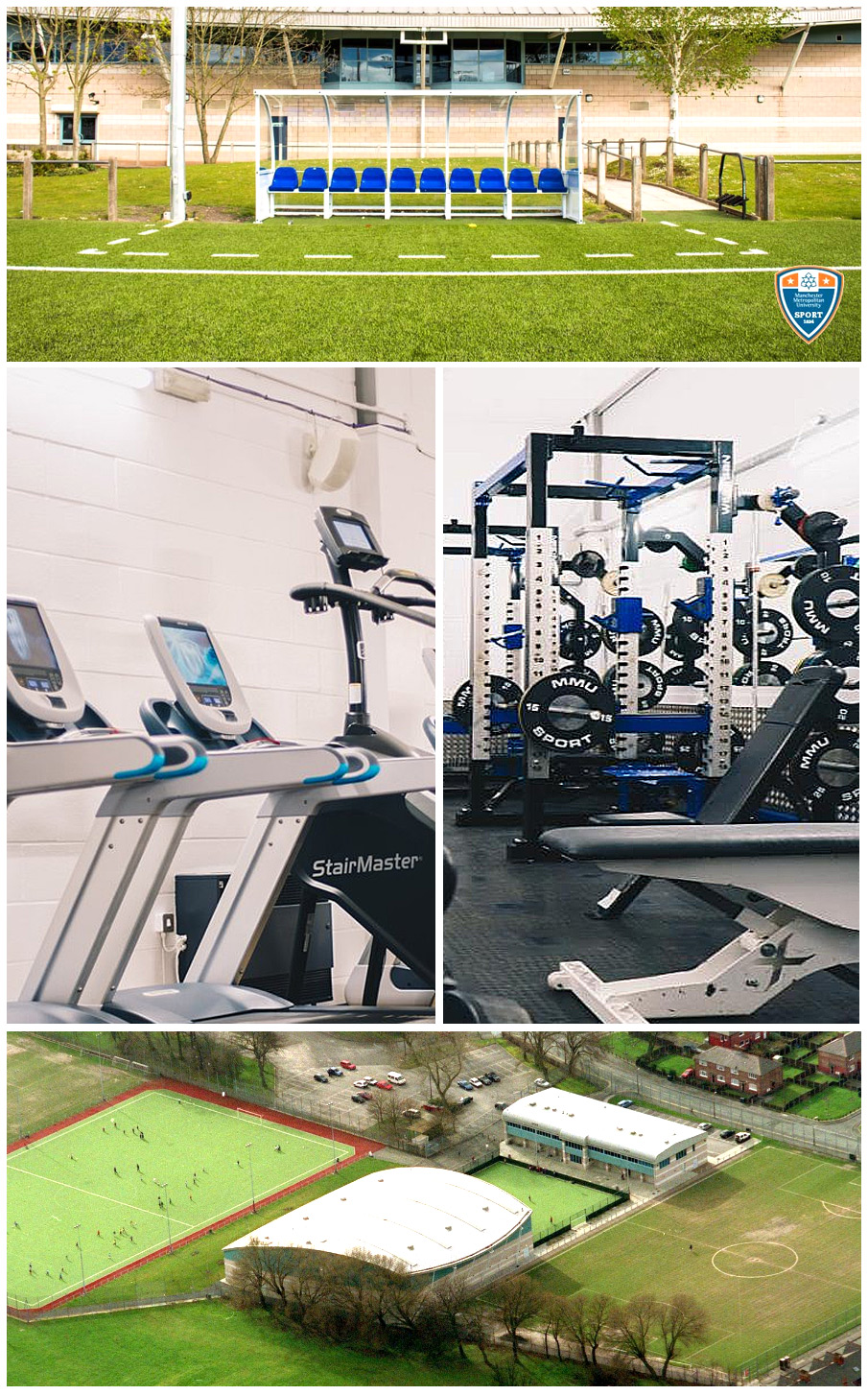 The elite level gym facility at Pro:Direct Academy Manchester